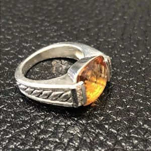 David Yurman 11mm yellow citrine & deco Albion